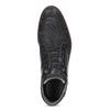 Modrá pánska kožená členková obuv bata, modrá, 826-9912 - 17