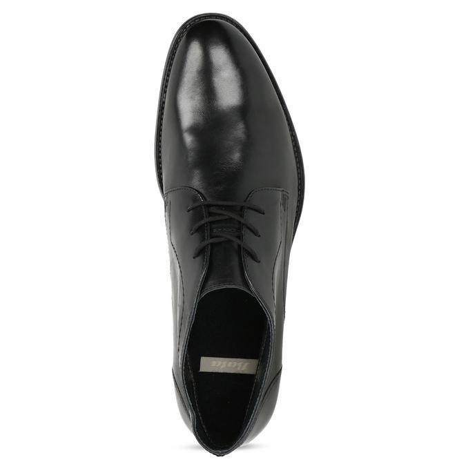 Pánska kožená členková obuv bata, čierna, 824-6892 - 17