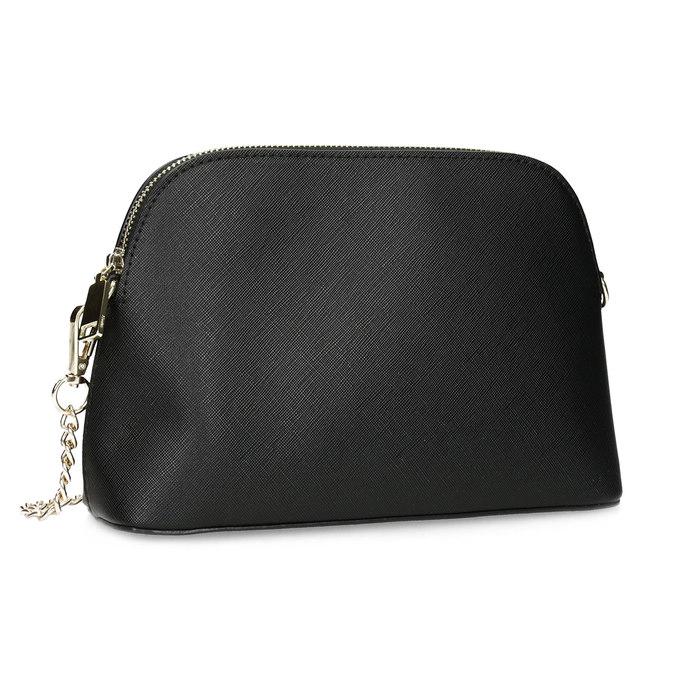 Čierna Crossbody kabelka s retiazkou bata, čierna, 961-6925 - 13