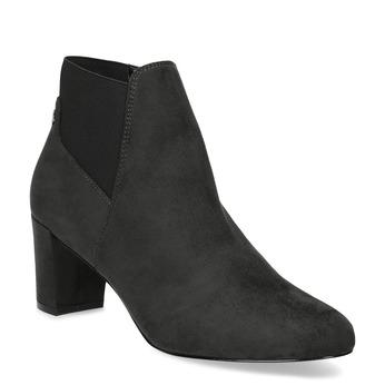 Šedá dámska členková obuv s elastickou pätou bata, šedá, 799-2625 - 13