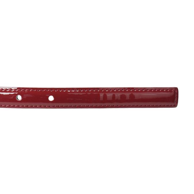 Dámsky červený opasok so sponou bata, červená, 951-5605 - 16