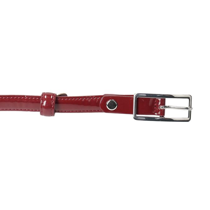 Dámsky červený opasok so sponou bata, červená, 951-5605 - 26