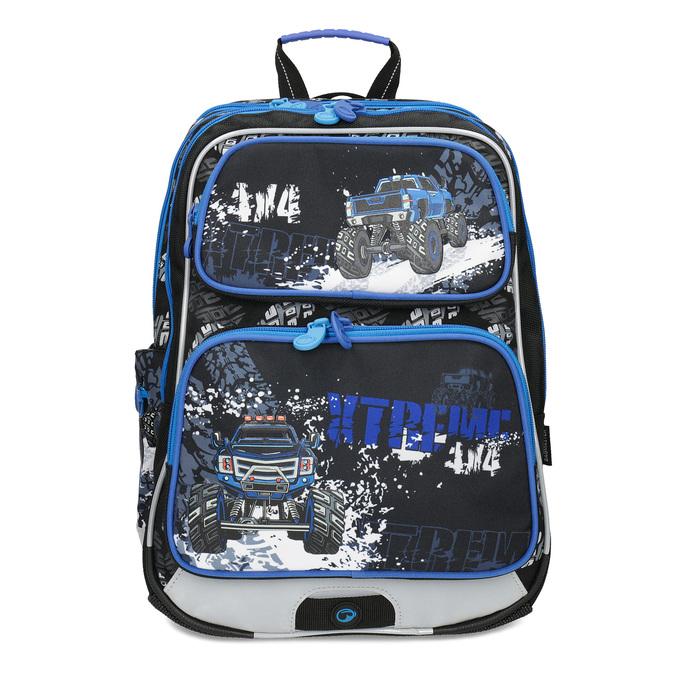 Školský batoh s autom bagmaster, modrá, 969-9713 - 26