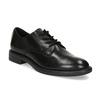 Čierne dámske kožené poltopánky bata, čierna, 524-6666 - 13