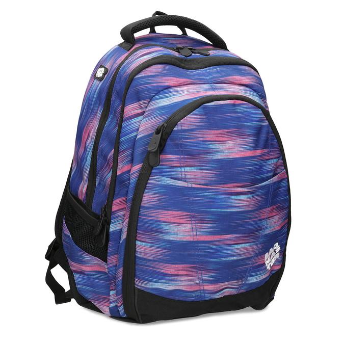 17aae8b4f9 Bagmaster Školský modro-ružový batoh - Školské batohy