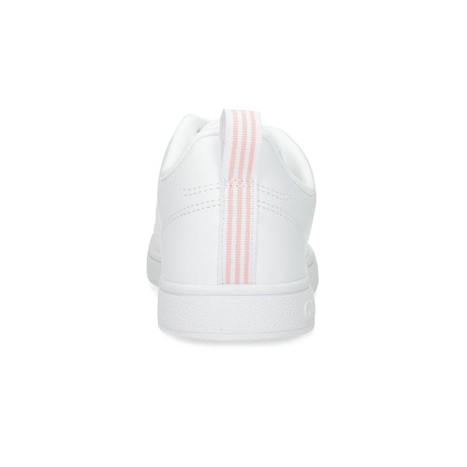 Biele dámske tenisky s perforáciou adidas, biela, 501-1800 - 15