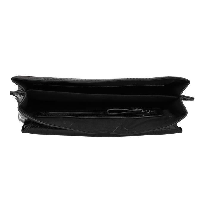 Čierna Crossbody kabelka s prackou bata, čierna, 961-6873 - 15