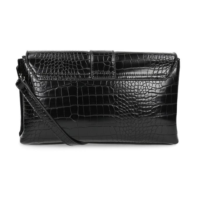Čierna Crossbody kabelka s prackou bata, čierna, 961-6873 - 16
