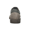 Šedé ležérne pánske kožené poltopánky weinbrenner, šedá, 826-8692 - 15