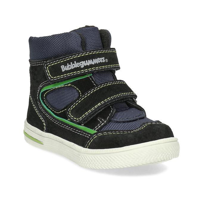 Členková detská obuv na suché zipsy bubblegummers, modrá, 113-9610 - 13
