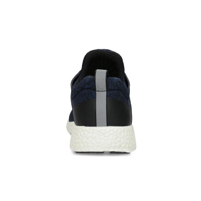 Pánske športové modré tenisky bata-light, modrá, 849-9634 - 15