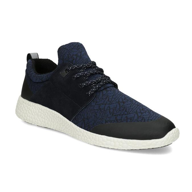 Pánske športové modré tenisky bata-light, modrá, 849-9634 - 13