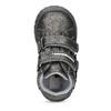 Dievčenské členkové topánky s kytičkami bubblegummers, šedá, 121-2622 - 17
