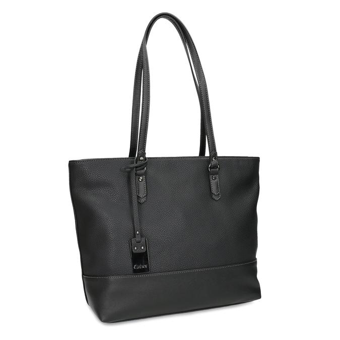 Čierna kabelka shopper bag gabor-bags, čierna, 961-6038 - 13