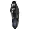 Pánske kožené Monk Shoes poltopánky bata, čierna, 824-6613 - 17