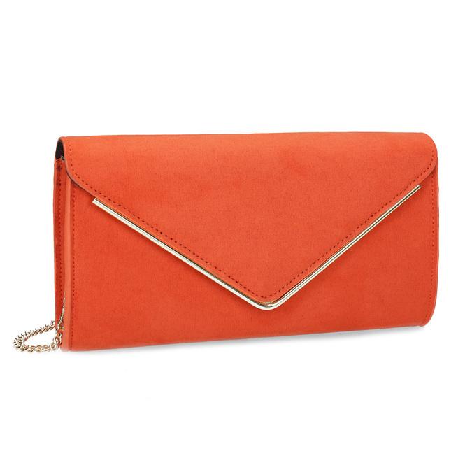 0ea8bcf292 Bata Tehlovo oranžová listová kabelka - Malé kabelky