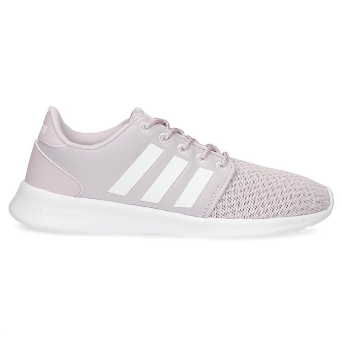Dámske ružové tenisky s bielou podrážkou adidas, ružová, 501-5103 - 19