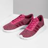 Ružové detské tenisky so žíhaním adidas, ružová, 409-5188 - 16