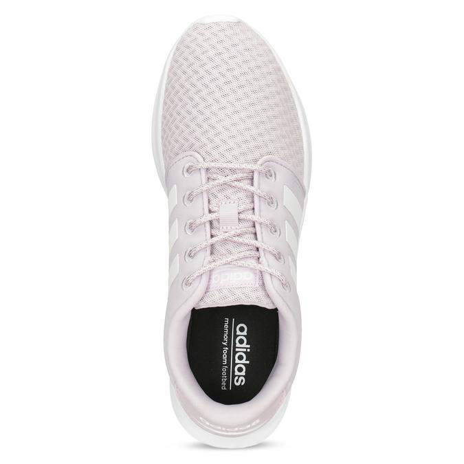 Dámske ružové tenisky s bielou podrážkou adidas, ružová, 501-5103 - 17
