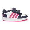 Biele detské tenisky na suchý zips adidas, viacfarebné, 101-1194 - 19