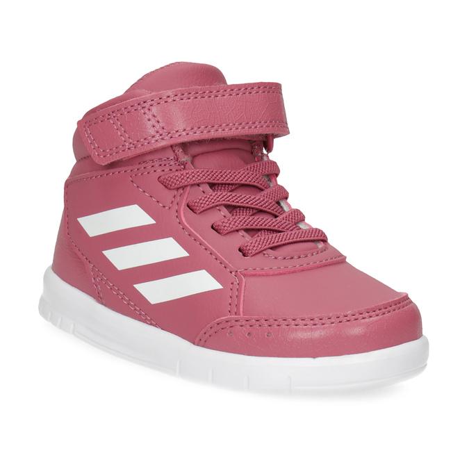 Adidas Ružové členkové detské tenisky - Deti  76b5e8aee29