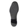 Členkové dámske gumáky s prackou bata, čierna, 592-6601 - 18