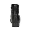 Dámske kožené čierne členkové čižmy gabor, čierna, 614-6049 - 15