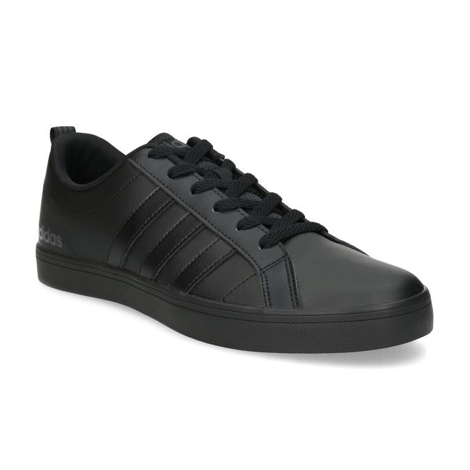 Čierne pánske tenisky s rovnou podrážkou adidas, čierna, 801-6236 - 13