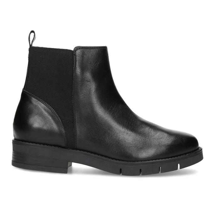 Kožené dámske čierne Chelsea flexible, čierna, 594-6667 - 19
