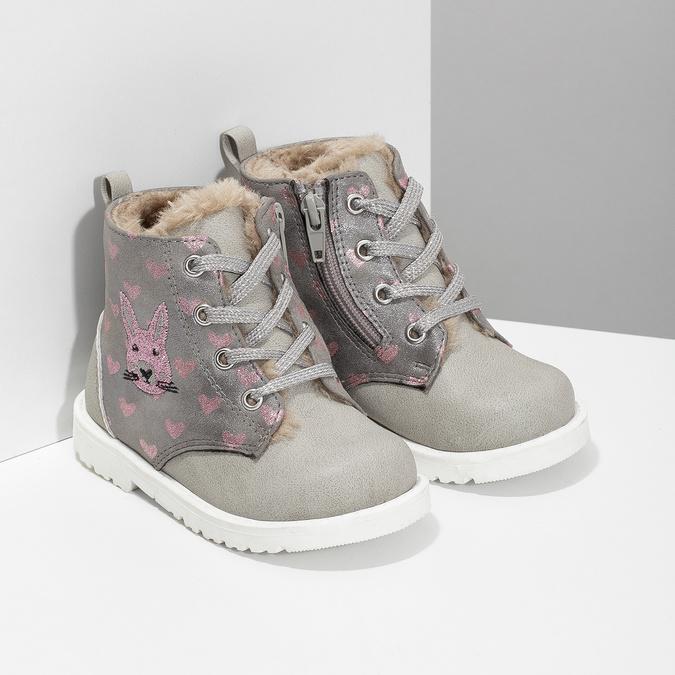 116d2e2d2191 Bubblegummers Detská zimná členková obuv so vzorom - Pre najmenšie ...