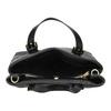 Čierna kabelka so zlatými sponami bata, čierna, 961-6886 - 15