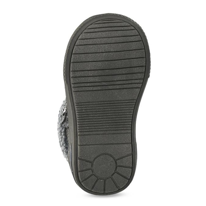 Detská zimná obuv so zateplením bubblegummers, hnedá, 191-4619 - 18