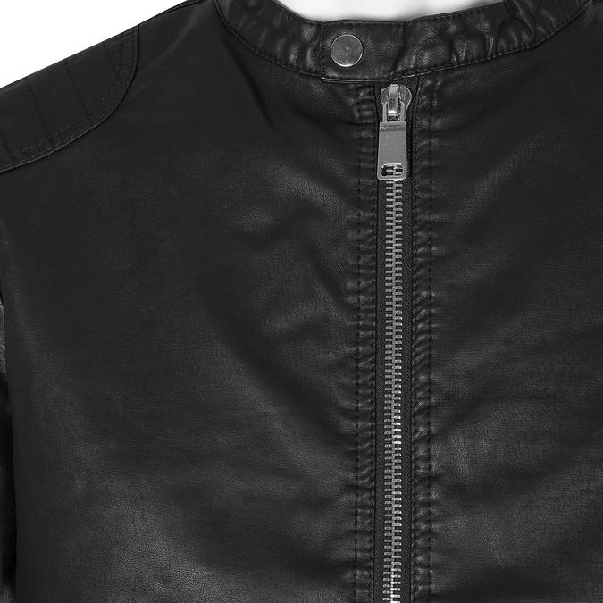 Pánska čierna jarná bunda bata, čierna, 971-6221 - 16
