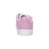 Ružové kožené detské tenisky adidas, ružová, 103-5203 - 15