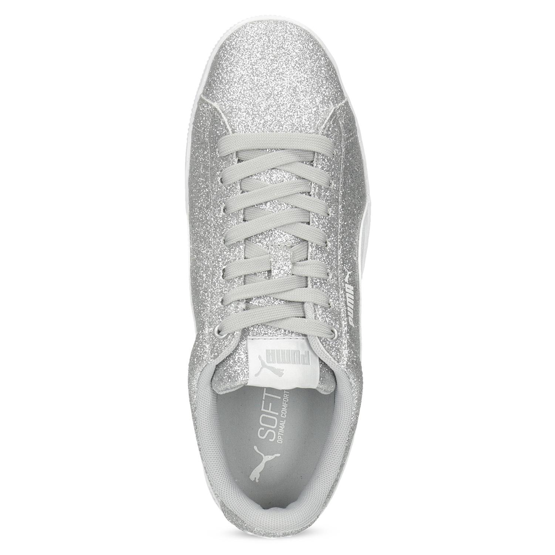 Puma Detské trblietavé tenisky na flatforme - Športové značky  d3a93bf14d0