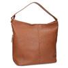 Hnedá Hobo kabelka s prešitím bata, hnedá, 961-4921 - 13