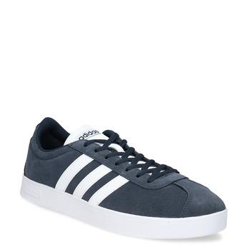 Pánske tenisky z brúsenej kože adidas, modrá, 803-9379 - 13