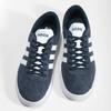 Pánske tenisky z brúsenej kože adidas, modrá, 803-9379 - 16