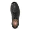 Čierne pánske poltopánky bata-red-label, čierna, 821-9609 - 17
