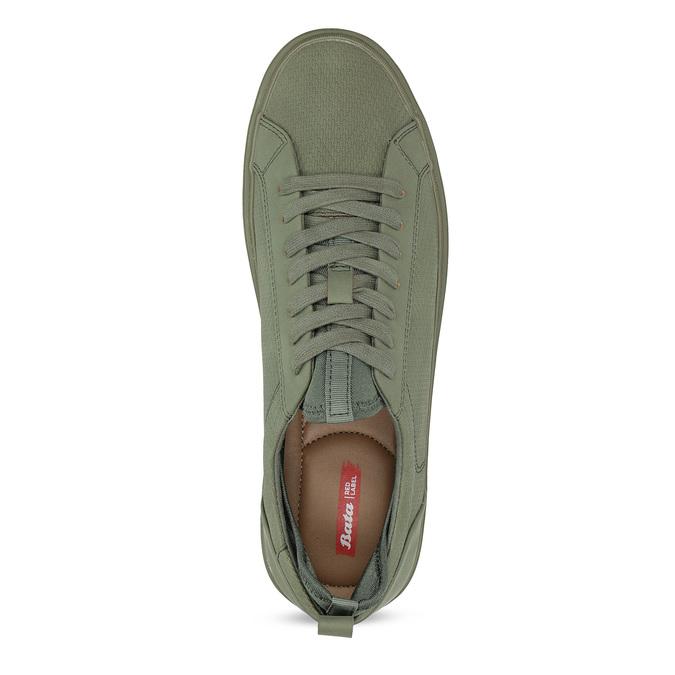 Pánske khaki tenisky bata-red-label, zelená, 841-7623 - 17