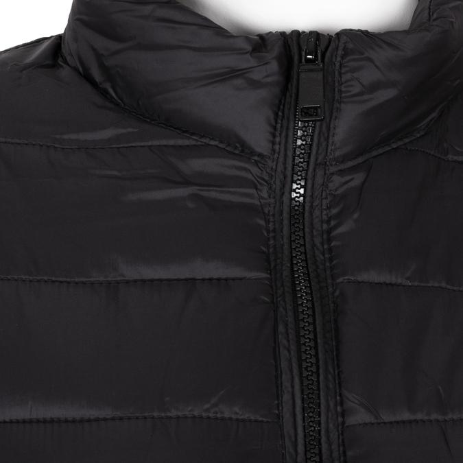 Dámska prešívaná bunda čierna bata, čierna, 979-6361 - 16