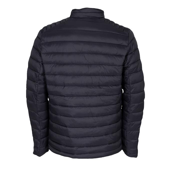 Pánska prešívaná bunda tmavomodrá bata, modrá, 979-9369 - 26