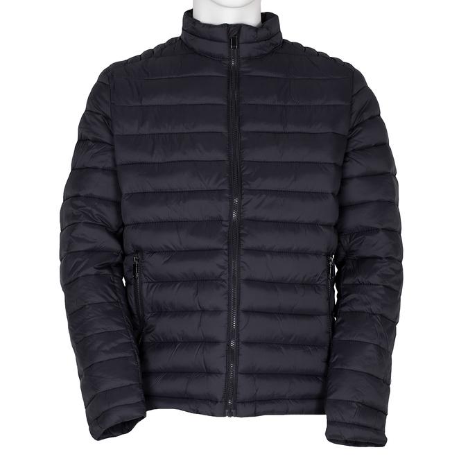 Pánska prešívaná bunda tmavomodrá bata, modrá, 979-9369 - 13