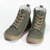 Detská kožená zimná obuv s prešitím mini-b, 296-3600 - 16