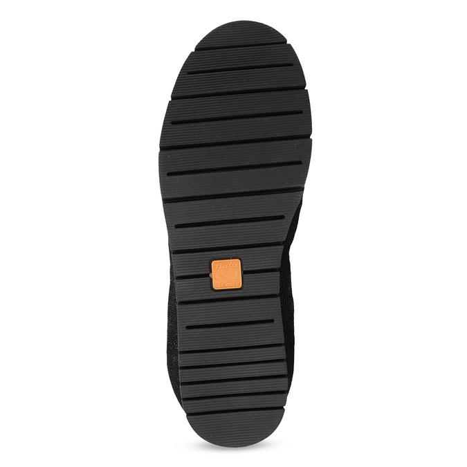 Dámske kožené čierne baleríny flexible, čierna, 526-6663 - 18