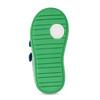 Modré detské tenisky so zeleným detailom bubblegummers, modrá, 111-9625 - 18