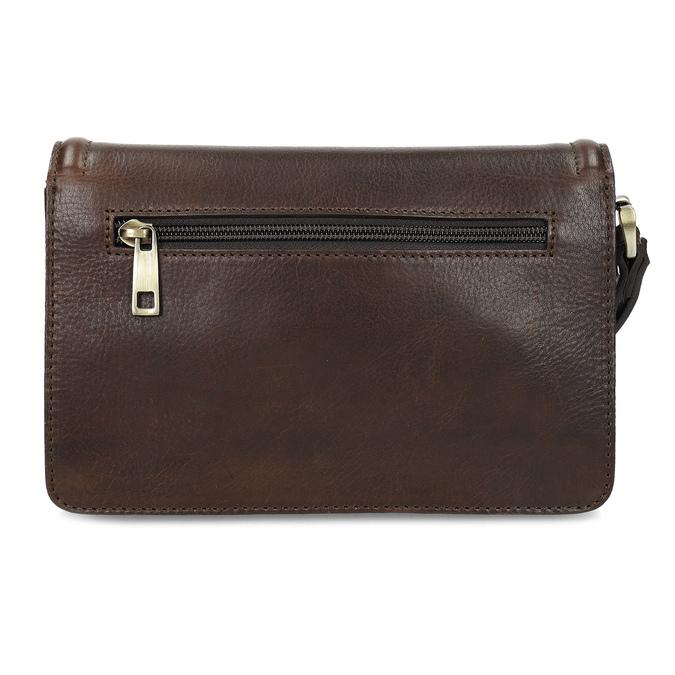 Kožená pánska taška do ruky bata, hnedá, 964-4315 - 16