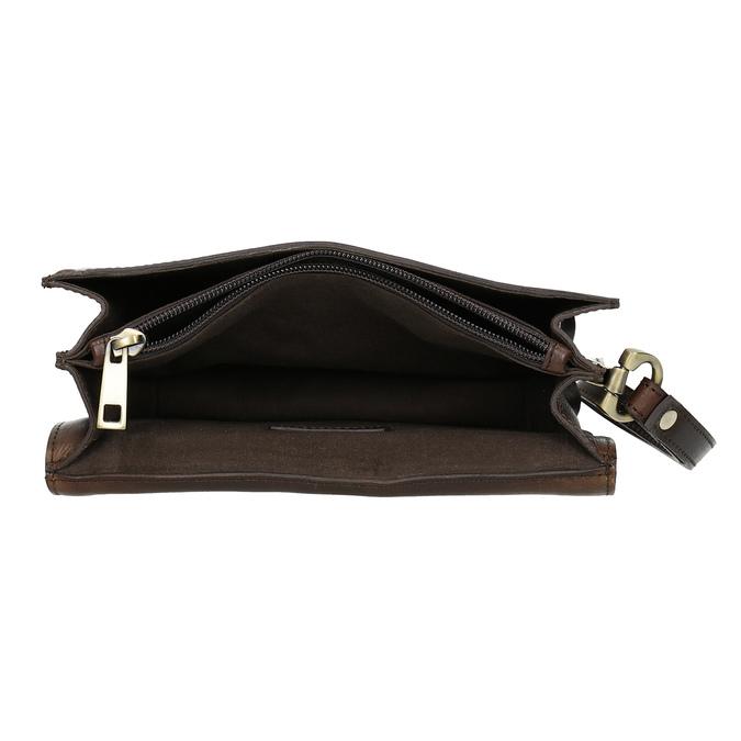 Kožená pánska taška do ruky bata, hnedá, 964-4315 - 15