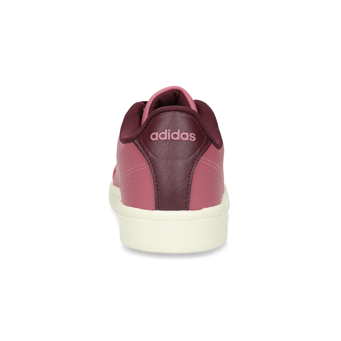 Ružové dámske ležérne tenisky adidas, červená, 501-5101 - 15