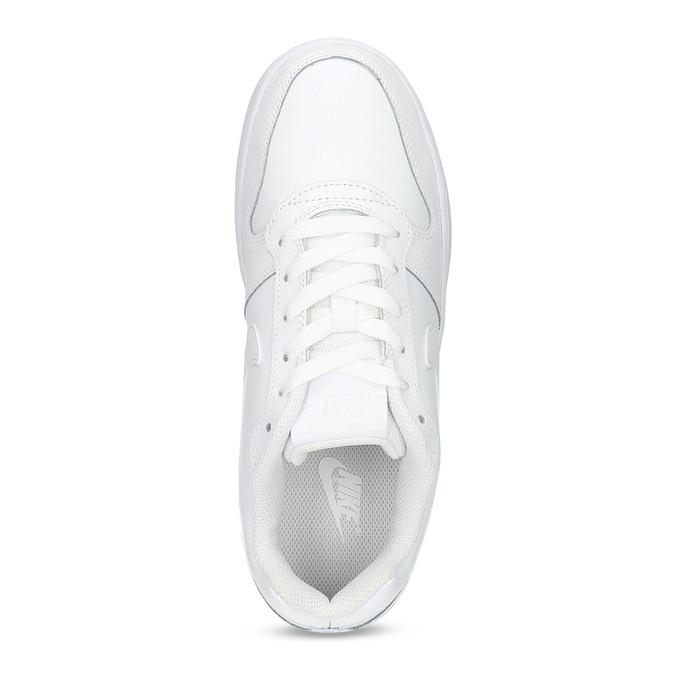 Biele dámske tenisky s prešitím nike, biela, 501-1130 - 17